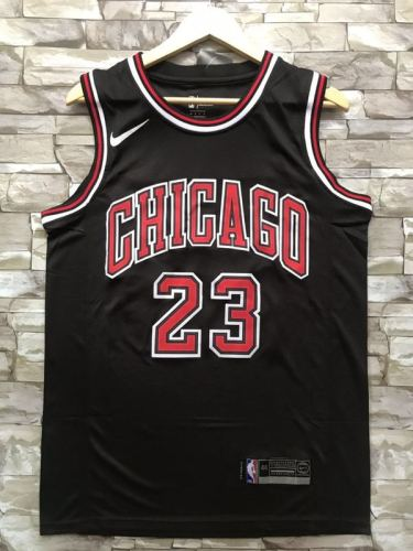 Chicago Bulls Michael Jordan 23 Black Throwback Classics Jerseys