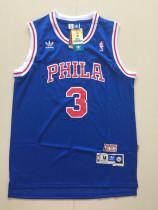 Philadelphia 76ers Allen Iverson 3 Throwback Classics Jersey
