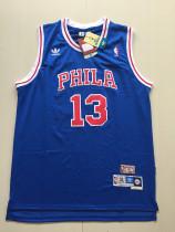 Philadelphia 76ers Wilt Chamberlain 13 Throwback Classics Jersey