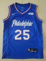 Philadelphia 76ers Ben Simmons 25 Basketball Club Player Jerseys