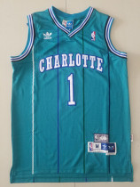 Charlotte Hornets Tyrone Bogues 1 Throwback Classics Jersey