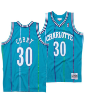 Charlotte Hornets Stephen Curry 30 Charlotte Basketball Club Jersey