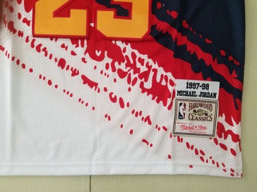 Chicago Bulls 1997-98 Michael Jordan 23 Fashion Edition Basketball Jersey