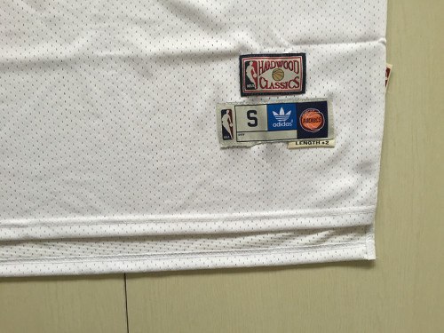 Houston Rockets Hakeem Olajuwon 34 White Throwback Classics Jerseys