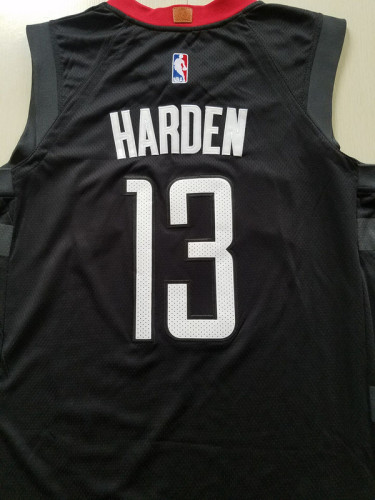 Houston Rockets James Harden 13 Black Basketball Club Player Jerseys
