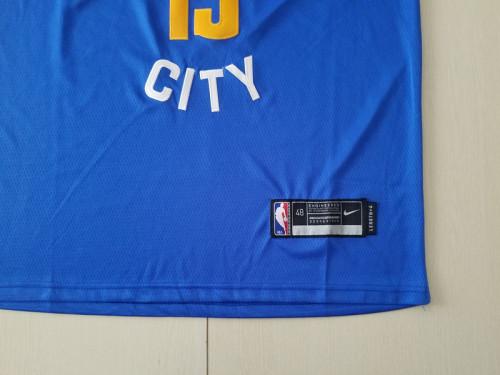 Denver Nuggets Nikola Jokic 15 Blue Basketball Club Player Jerseys