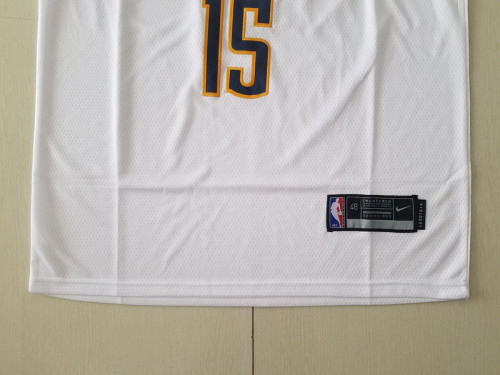 Denver Nuggets Nikola Jokic 15 White Basketball Club Player Jerseys
