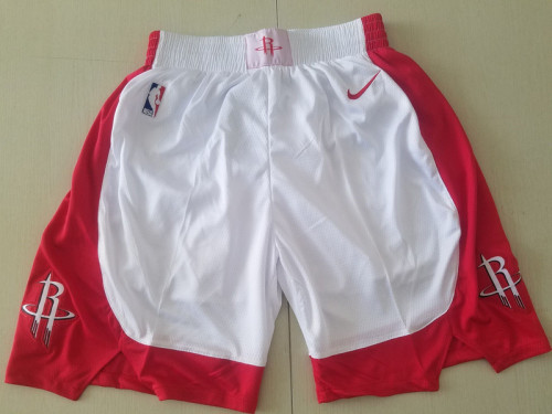 Houston Rockets White Basketball Club Shorts