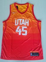 Utah Jazz Donovan Mitchell 45 City Editon Basketball Club Player Jersey