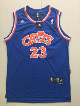 Cleveland Cavaliers LeBron James 23 Blue Retro Classics Basketball Jerseys