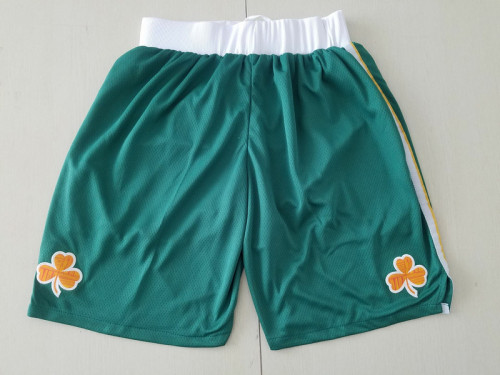 Boston Celtics Green Basketball Club Shorts