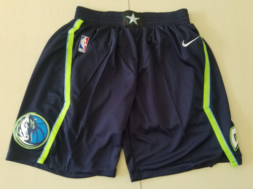 Dallas Mavericks Black City Edition Basketball Club Shorts