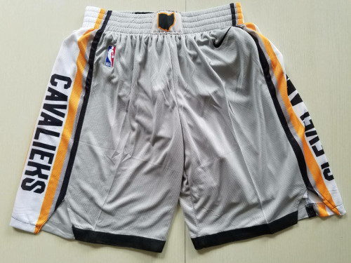 Cleveland Cavaliers Gray City Edition Basketball Club Shorts