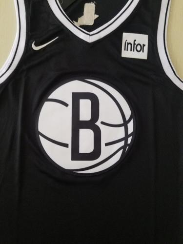 Brooklyn Nets Kyrie Irving 11 Black Basketball Club Player Jerseys