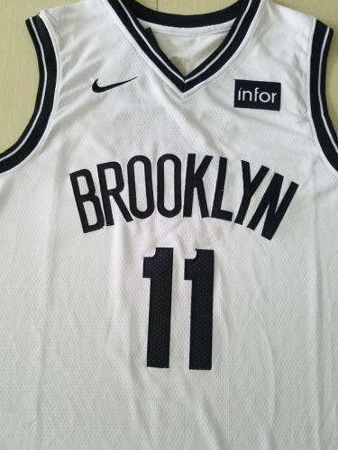 Brooklyn Nets Kyrie Irving 11 White Basketball Club Player Jerseys