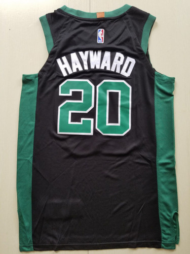 Boston Celtics Gordon Hayward 20 Black Basketball Club Player Jerseys