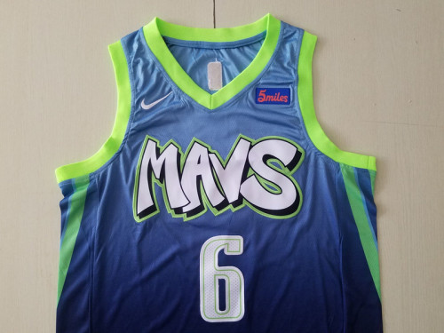 Dallas Mavericks Kristaps Porzingis 6 City Edition Basketball Club Jerseys