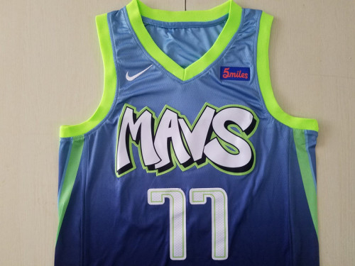 Dallas Mavericks Luka Dončić 77 City Edition Basketball Club Jerseys