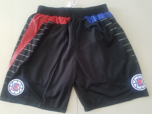 Los Angeles Clippers  Black Basketball Club Shorts