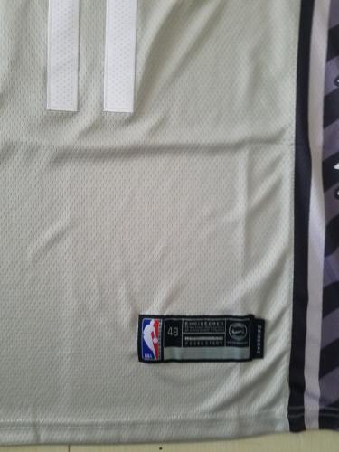 Brooklyn Nets Kyrie Irving 11 Gray Basketball Club Player Jerseys