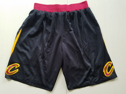 Cleveland Cavaliers Black Basketball Club Shorts