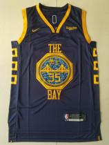 Golden State Warriors Kevin Durant 35 Black City Edition Basketball Club Jerseys