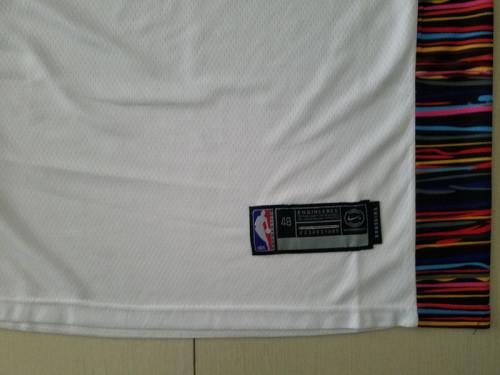 Brooklyn Nets Kevin Durant 7 White City Edition Basketball Club Jerseys