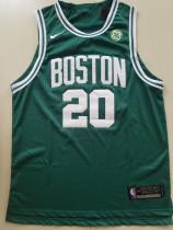 Boston Celtics Gordon Hayward 20 Green Basketball Club Player Jerseys