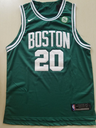 Boston Celtics Gordon Hayward 20 Green Basketball Club Player Jerseys