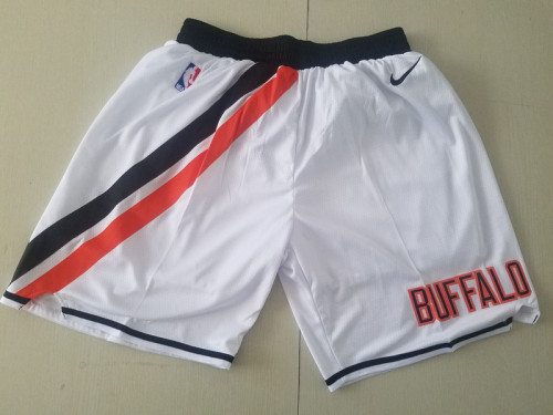 Los Angeles Clippers  White Basketball Club Shorts