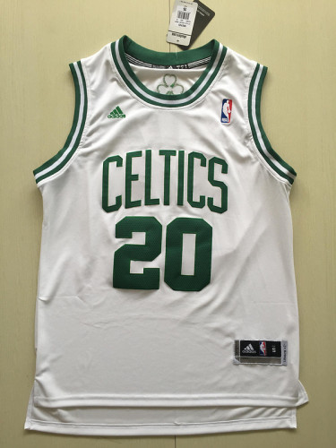 Boston Celtics Ray Allen 20 Gordon Hayward 20 White Classics Basketball Club Jerseys