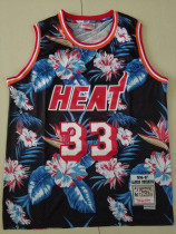 Miami Heat Alonzo Mourning 33 Throwback Classics 1996-97 Basketball Jerseys
