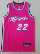 Miami Heat Jimmy Butler 22 Pink Basketball Club Player Jerseys