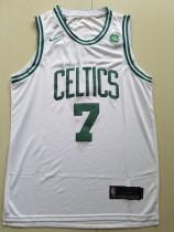 Boston Celtics Jaylen Brown 7 White Basketball Club Player Jerseys