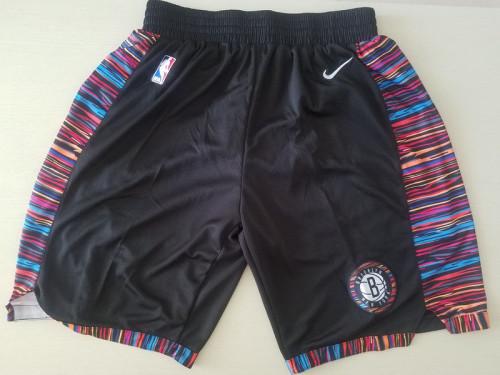 Brooklyn Nets Black Basketball Club Shorts