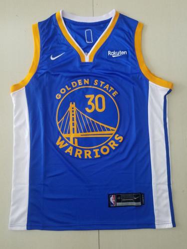 Golden State Warriors Stephen Curry 30 Blue Basketball Club Player Jerseys