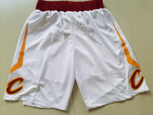 Cleveland Cavaliers White Basketball Club Shorts