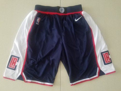 Los Angeles Clippers Navy Blue Basketball Club Shorts