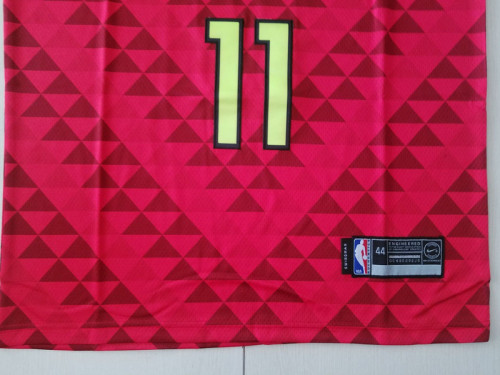 Atlanta Hawks Trae Young11 Red Basketball Club Player Jerseys