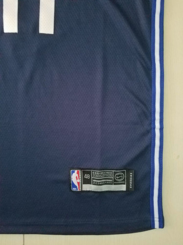 Dallas Mavericks Luka Dončić 77 Navy Blue Basketball Club Player Jerseys