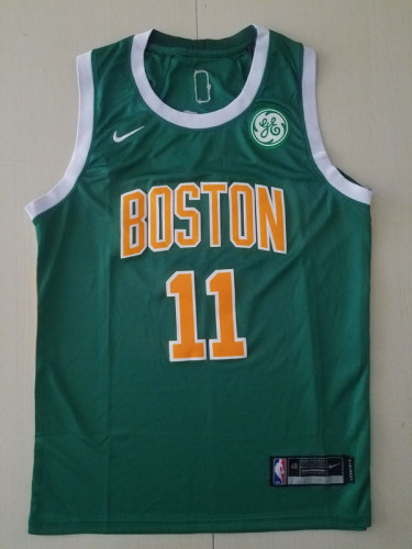 Boston Celtics Kyrie Irving 11 Green Classics Basketball Club Jerseys