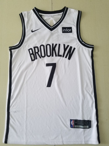 Brooklyn Nets Kevin Durant 7 White Basketball Club Player Jerseys
