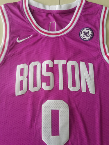 Boston Celtics Jayson Tatum 0 Basketball Club Player Jerseys