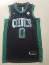 Boston Celtics Jayson Tatum 0 Black Basketball Club Player Jerseys