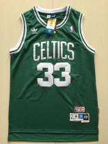 Boston Celtics Larry Bird 33 Green Throwback Classics Basketball Jerseys