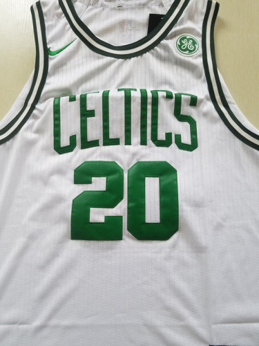 Boston Celtics Gordon Hayward 20 White Basketball Club Player Jerseys