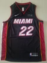 Miami Heat Jimmy Butler 22 Black Basketball Club Player Jerseys