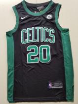 Boston Celtics Gordon Hayward 20 Black Basketball Club Player Jerseys