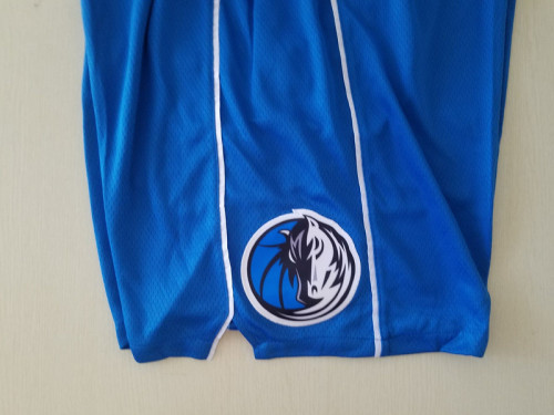 Dallas Mavericks Blue Basketball Club Shorts