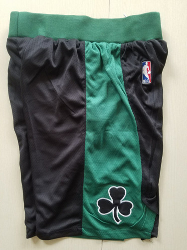 Boston Celtics Black Basketball Club Shorts